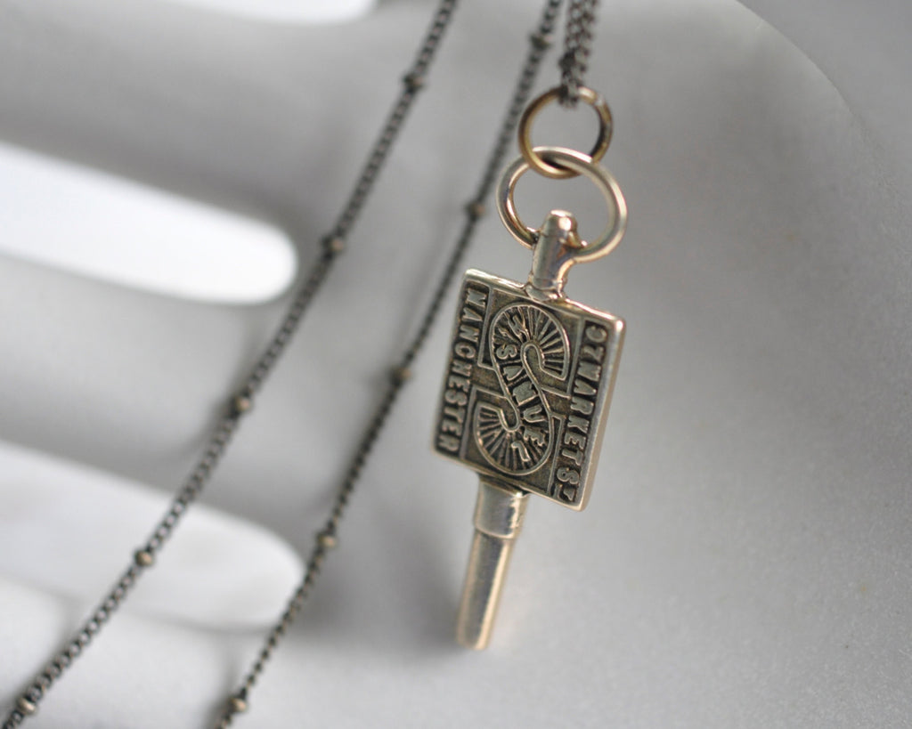 watch key necklace
