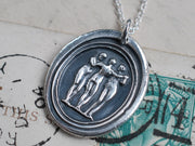 three graces necklace