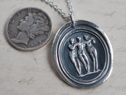 three graces pendant