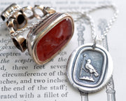raven wax seal jewelry