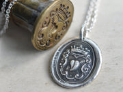heart wax seal jewelry