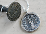 st. catherine wax seal jewelry