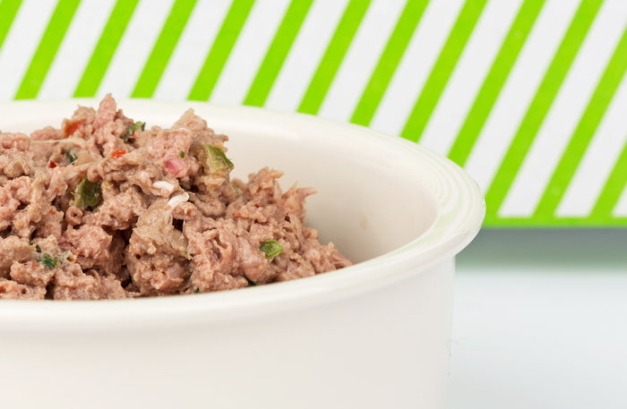 Raw Turkey Dinner for Dogs