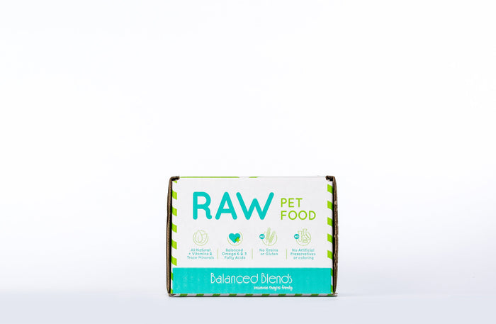 Raw Beef Dinner for Dogs - 2lb Case