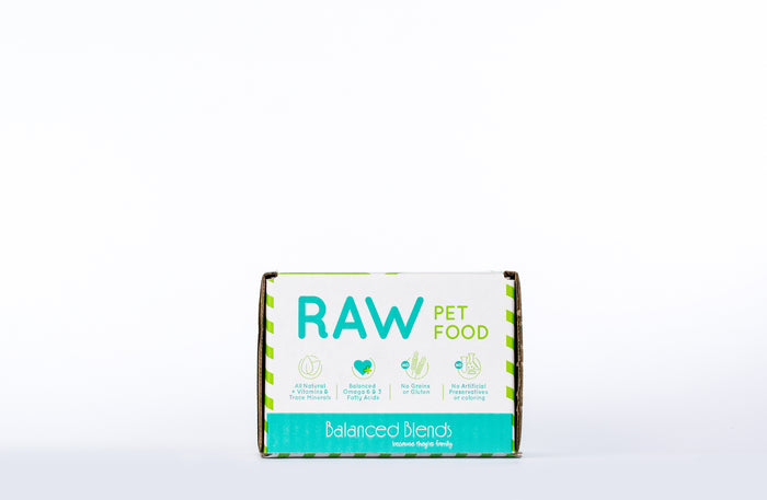 Raw Beef Dinner for Cats - 5lb Case