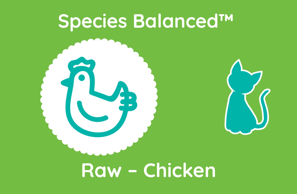 Species Balanced™ Raw Chicken for Cats