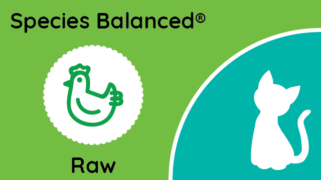 Species Balanced® Raw Chicken & Variety Meats for Cats