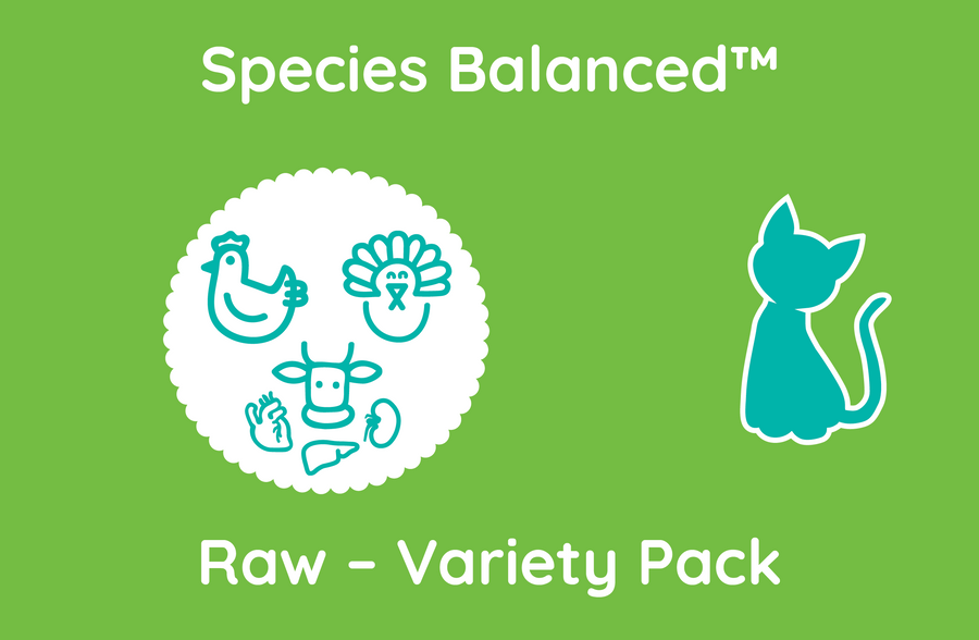 Species Balanced™ Raw Variety Pack for Cats (PP2019)