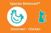 Species Balanced™ Steamed Chicken for Cats - Sample