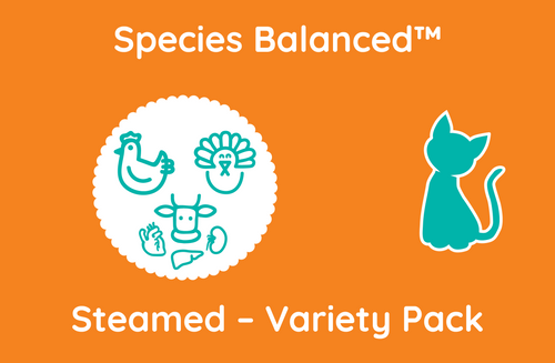 Species Balanced™ Steamed Variety Pack for Cats