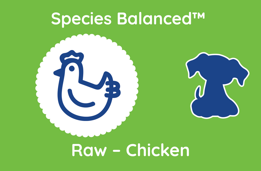 Species Balanced™ Raw Chicken for Dogs (PP2019)