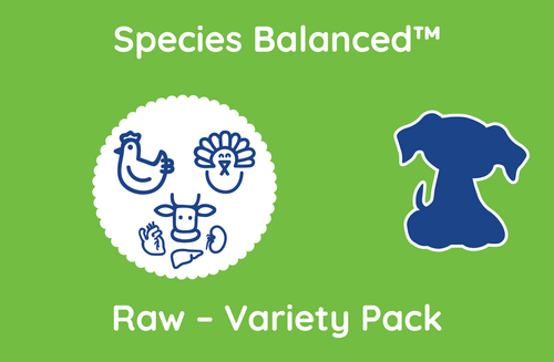 Species Balanced™ Raw Variety Pack for Dogs