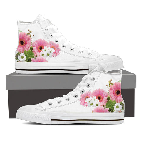 Floral High Tops – Buzzcut Bee