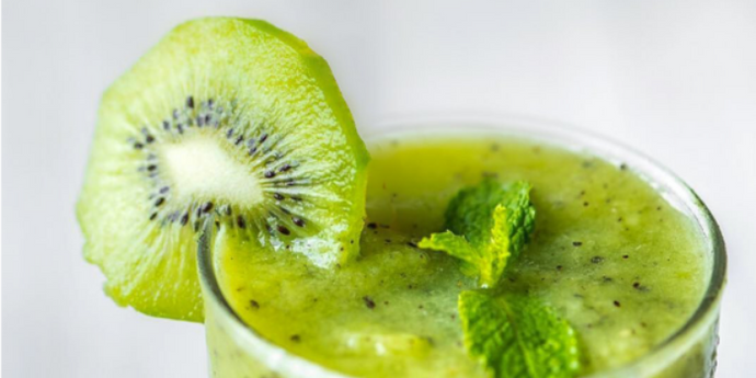 Iron Infused Kiwi Smoothie