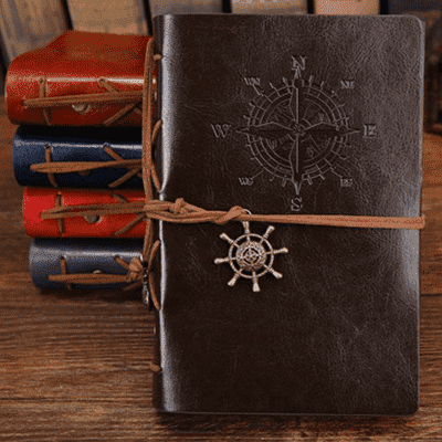 Pirate Vintage Diary Book