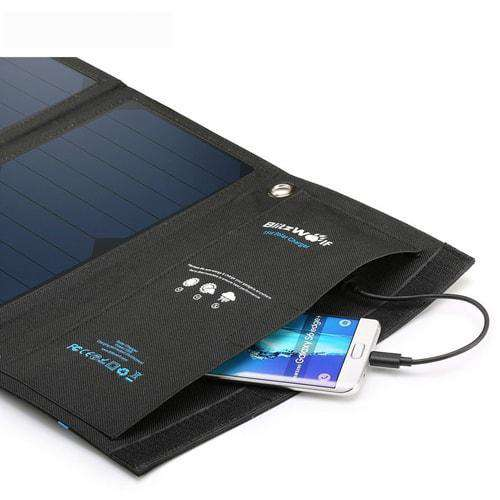 20W Solar Charger and Power Bank