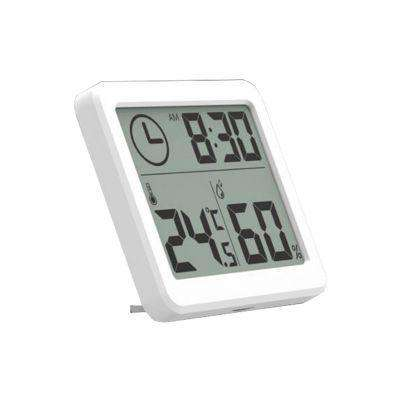 """3.2"" Large Screen Multifunction Automatic Electronic Temperature and Humidity Monitor Clock"