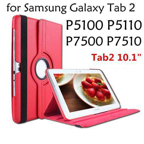 7 in 1 Leather Case For Samsung Galaxy Tab 2 10.1