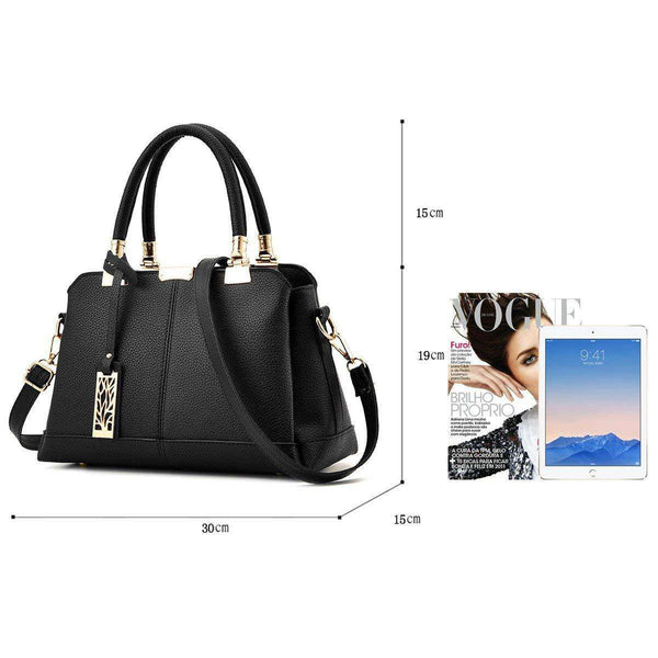 Metal Decor Women's Handbags