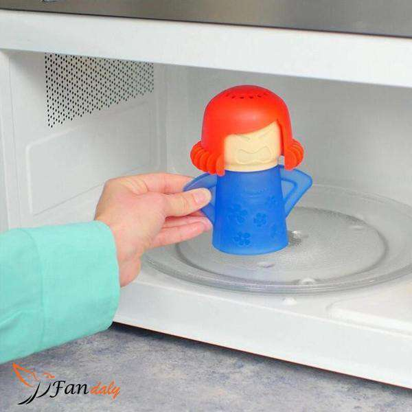 Angry Mom Microwave Cleaner - Fandaly