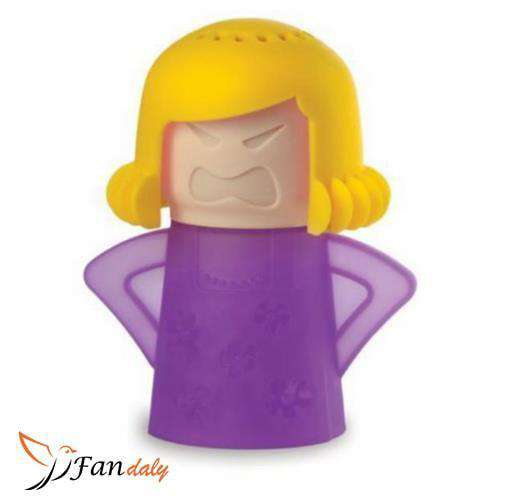 Angry Mama Microwave Cleaner Purple - Fandaly