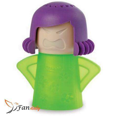 Angry Mama Microwave Cleaner Green- Fandaly