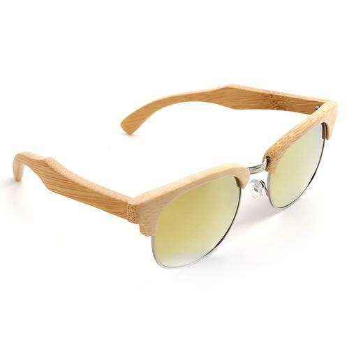 Top Brand Luxury Bamboo Sunglasses