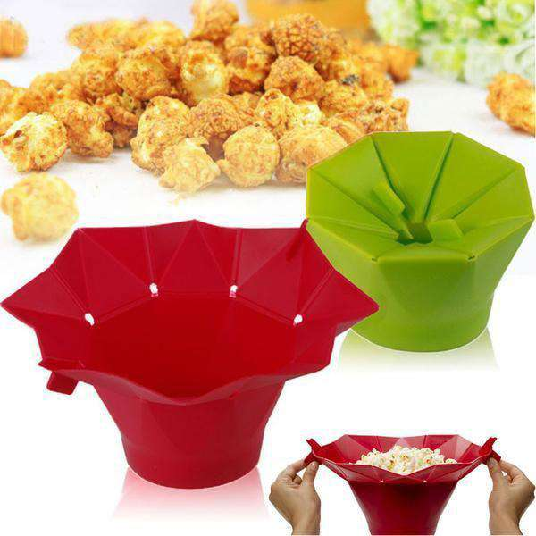 Chef n Popcorn Popper Best Silicone microwave popcorn maker