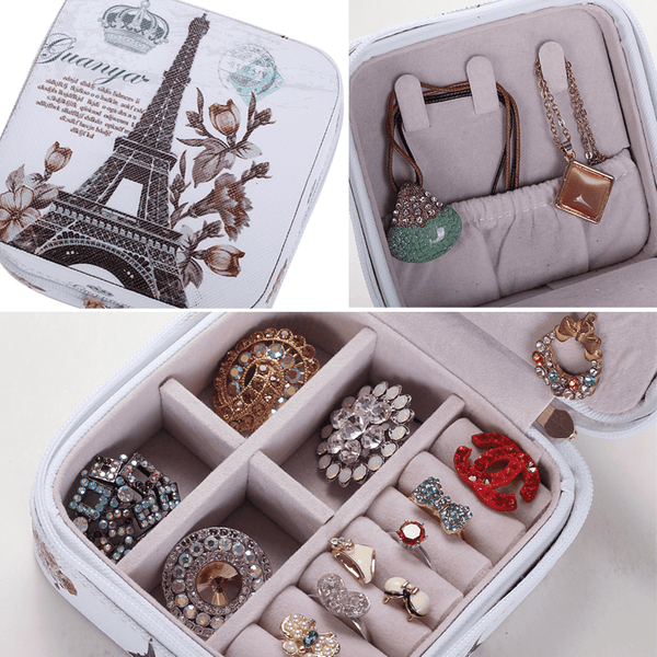 Mini-travel creative jewelry Box