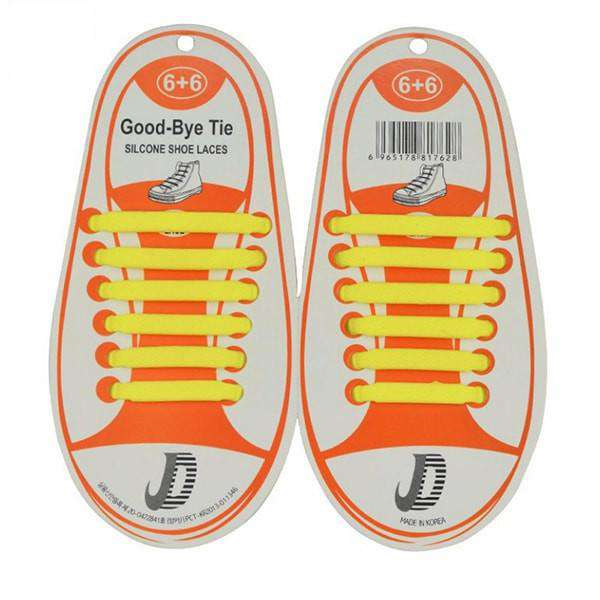 Good Bye Shoelaces No-tie Elastic Shoelaces