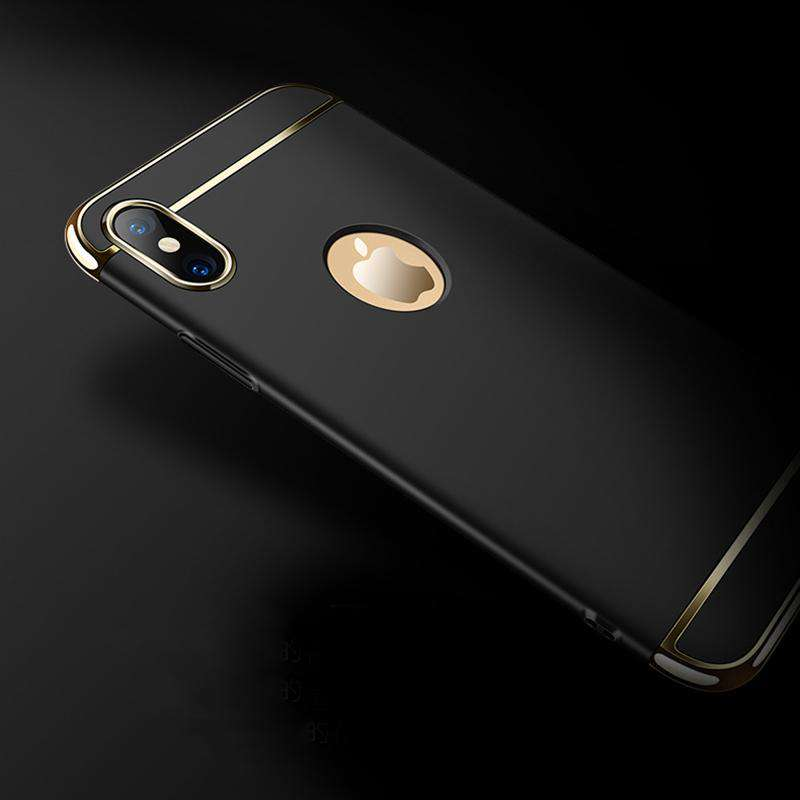 Luxury  Cases For iPhoneX matte Hard PC Coque
