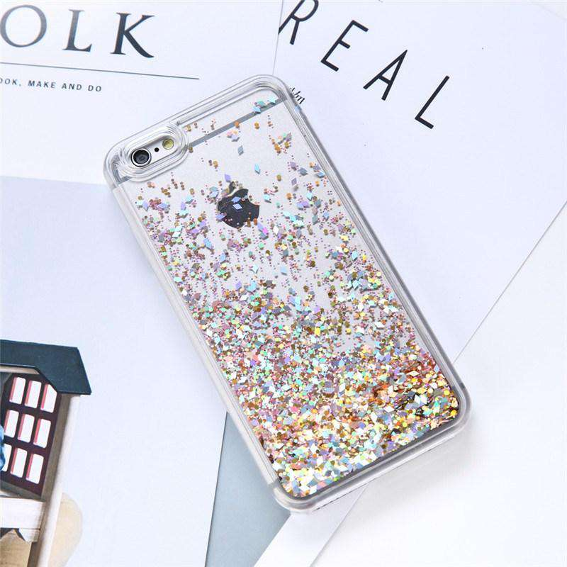 luxury dynamic glitter case for IPhone