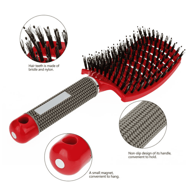 Super Thin Bristles Comb for Hair Oil Distribution