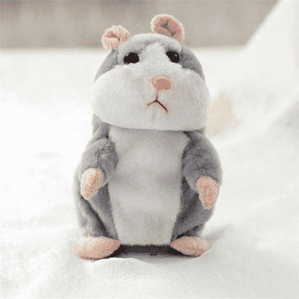 """Limited"" Little Plush Talking Hamster Toy"