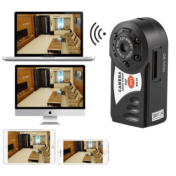 Q7 Mini Wifi DVR Wireless IP Camcorder
