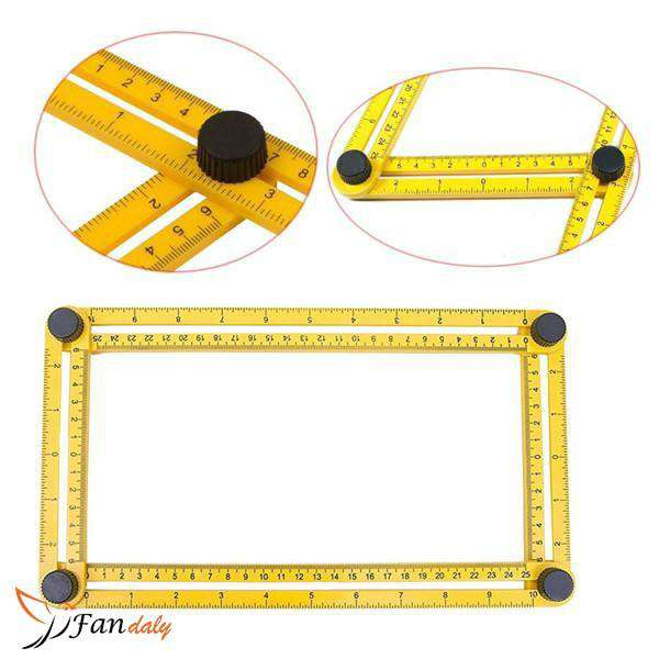 Perfect Angle Ruler - Fandaly