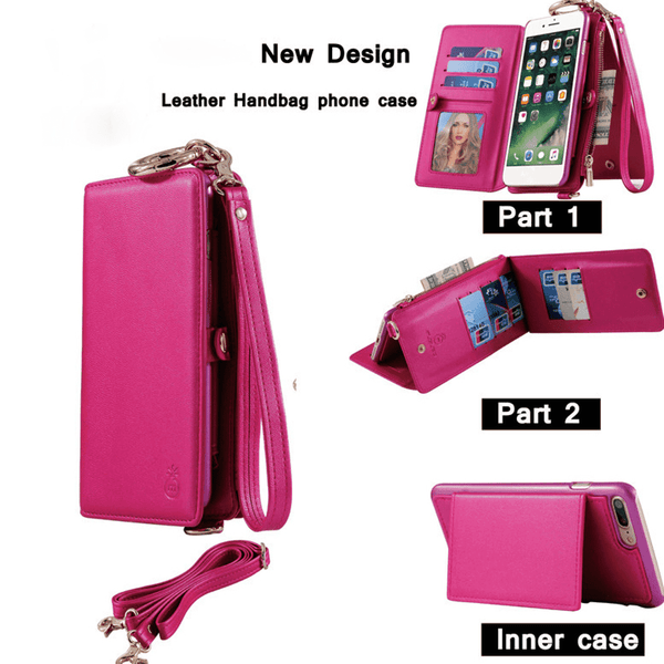 The 2 in 1  Phone Case-Wallet