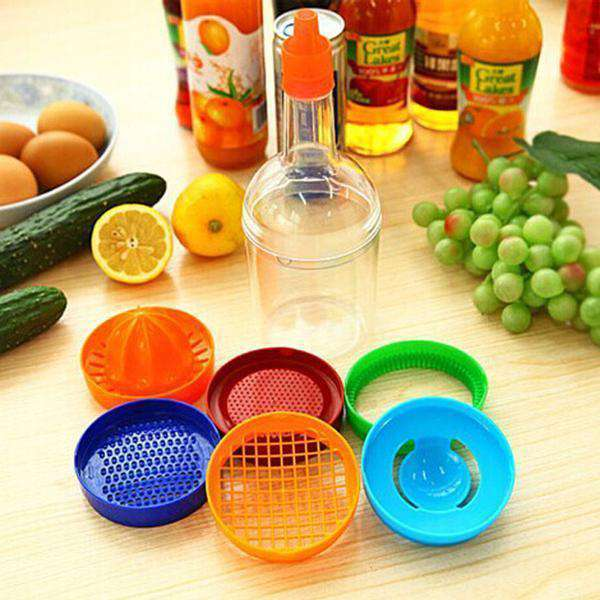 8 in 1 Kitchen Tool Set Multifunction Bottle