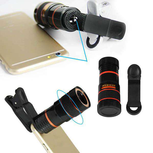 Super Zoom 12 x HD Lens For Cell Phone - Fandaly