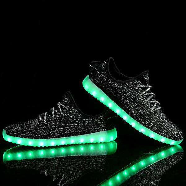 New and Vibrant Lumi-Shoes with USB Rechargeable LED Lights - Fandaly