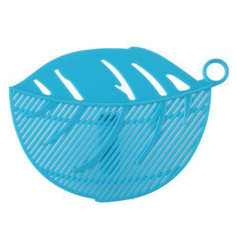 Hoomall 1Pc Leaf Shaped Rice Wash Gadget
