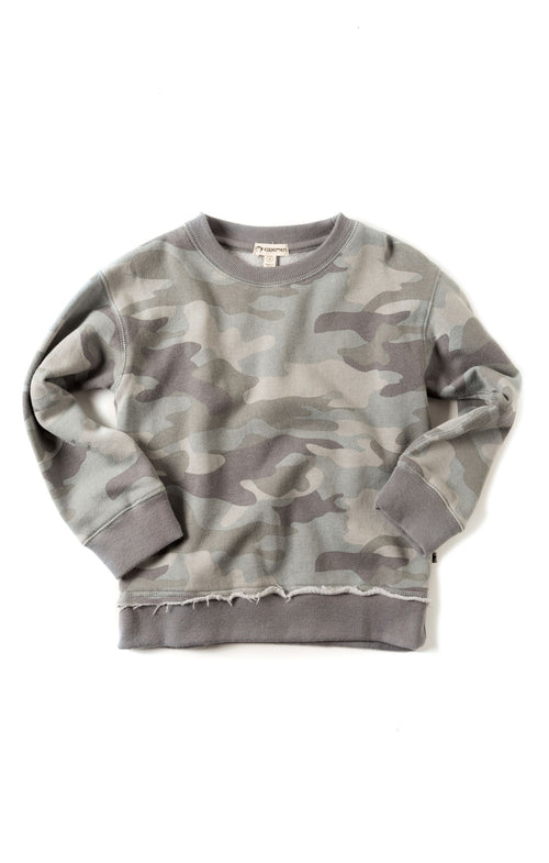 Highland  Grey Camo Sweatshirt