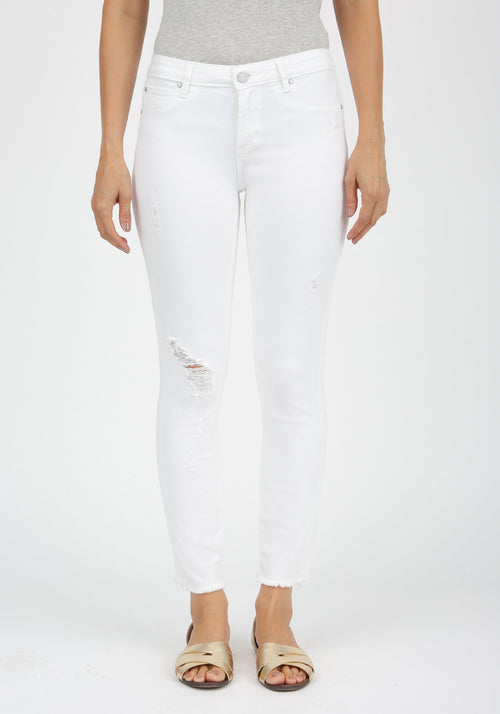 Carly Crop Denim
