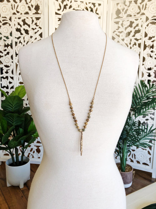 Briar beaded necklace