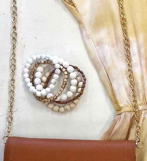 Gigi beaded bracelet bundle