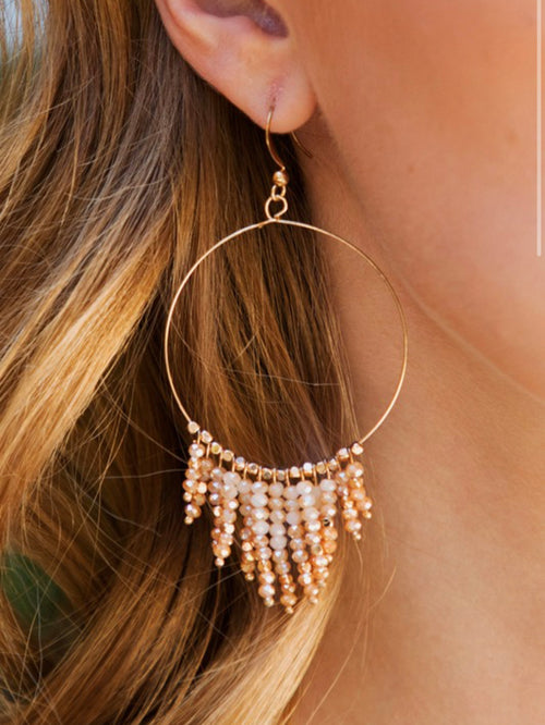 Beaded dream earrings