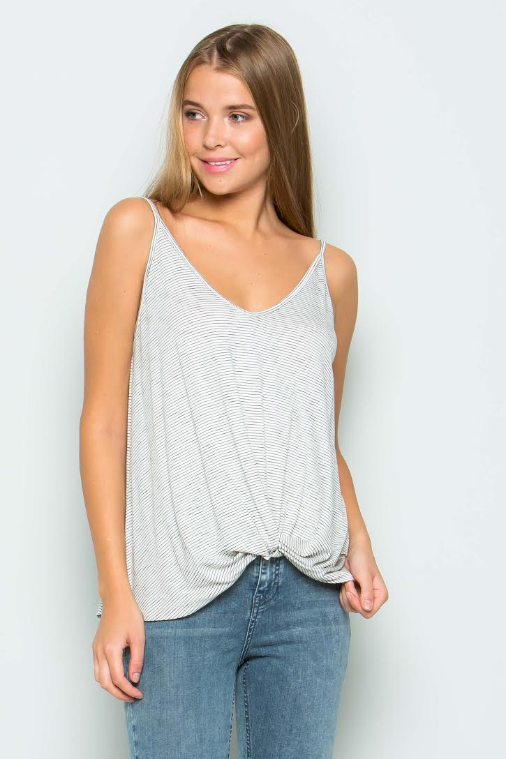 Macey Knot Front Tank
