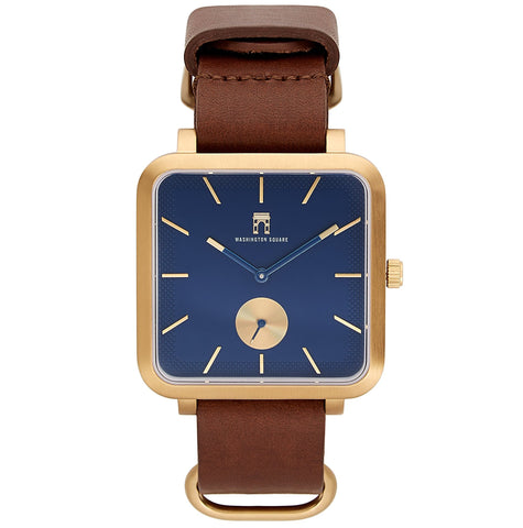 Greenwich Gold (Brown Strap)