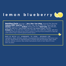 lemon blueberry - 12 bars