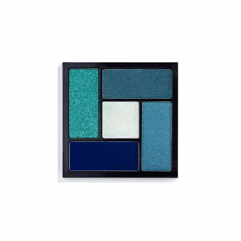 Blue Christmas Eyeshadow Palette